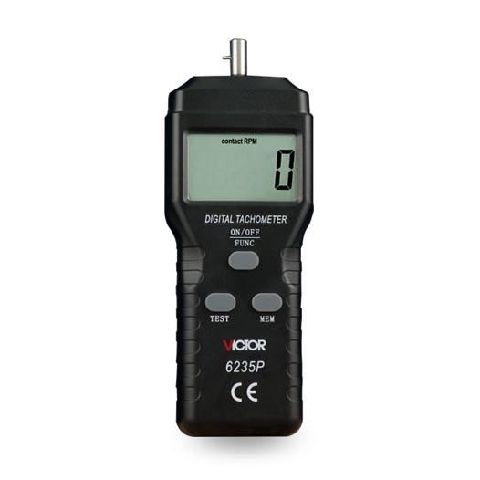 VICTOR 6235P接触式数字转速表