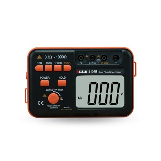 VICTOR 4105B低电阻测试仪