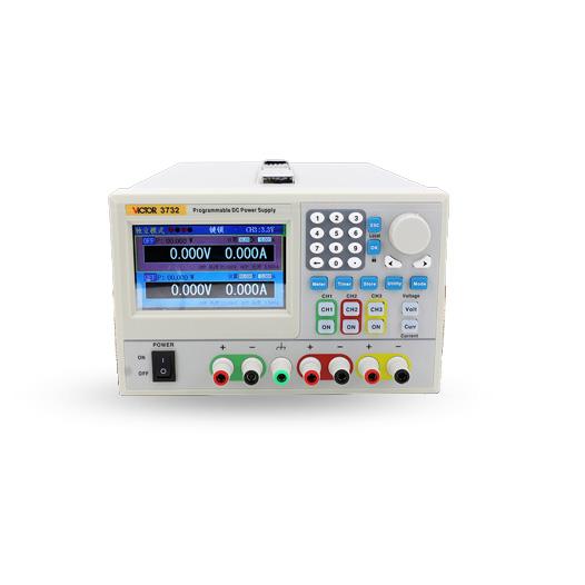 VICTOR 3731/3732 3721/3722可编程线性直流稳压电源