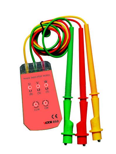 VC850三相交流电相序计