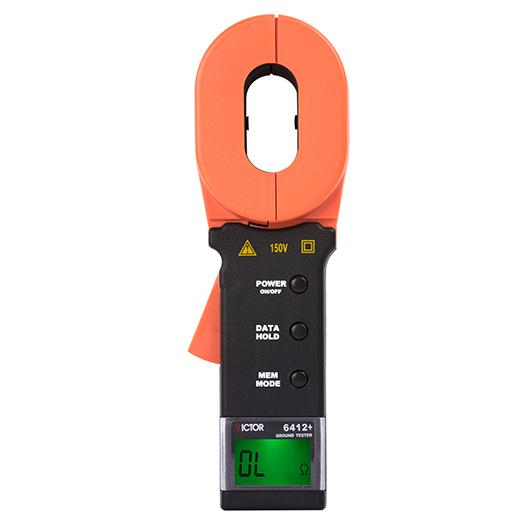 VICTOR 6412+钳形接地电阻测试仪
