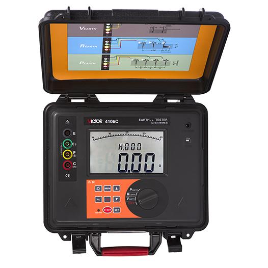 VICOTR 4105C/4106C/6415A接地电阻测试仪