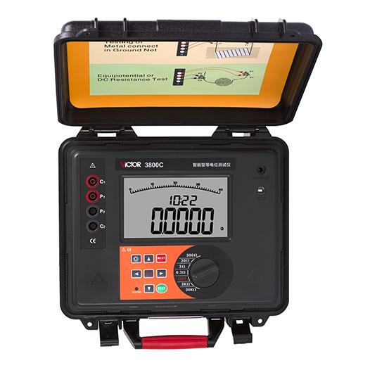 VICTOR 3800C智能型等电位测试仪