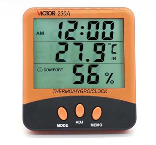 VICTOR 230A家用温湿度表