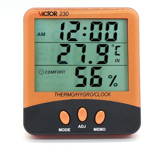 VICTOR 230家用温湿度表