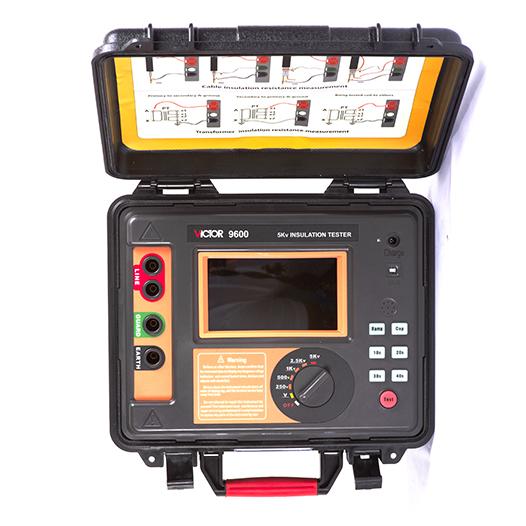 VICTOR 9600/9600B高压绝缘电阻测试仪