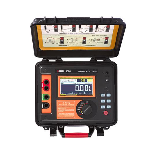 VICTOR 9620/9620B/9620C高压绝缘电阻测试仪