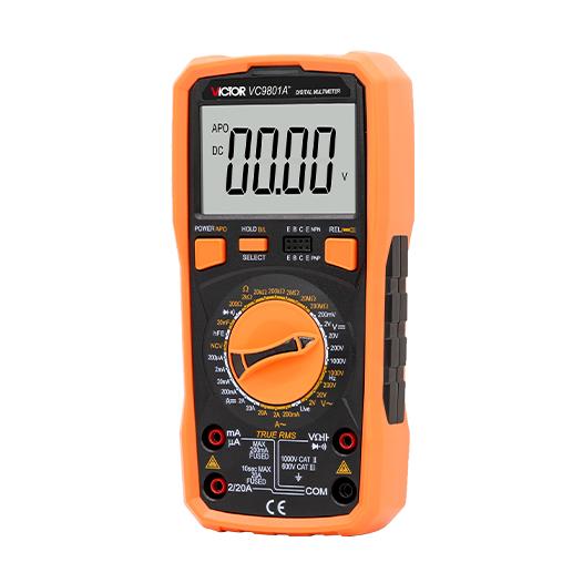 VC9801A+/VC9802A+/VC9804A+/VC9805A+/VC9808+万用表 2020款